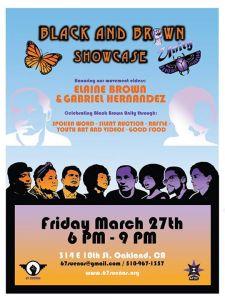 Black brown unity showcase