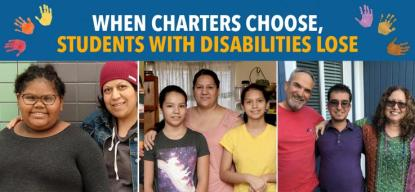 charters choose disabilities lose